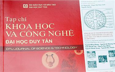 Các Nghiên cứu thuộc Lĩnh vực Sinh học và Vật lý đăng trên Tạp chí Khoa học & Công nghệ Đại học Duy Tân được tính điểm công trình