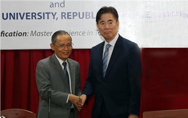 Đại học Duy Tân hợp tác với ĐH Dong – A (Hàn Quốc) Đào tạo Thạc sĩ Du lịch