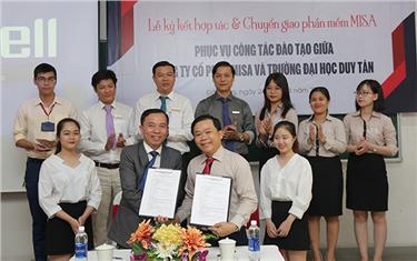 Đại học Duy Tân Ký kết Hợp tác với Công ty Cổ phần Misa