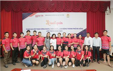 DTU Xuất quân tham gia Hội thao Công nhân, Viên chức, Lao động Thành phố Đà Nẵng năm 2021