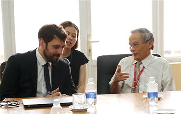 Đại học Duy Tân Làm việc với đoàn Cán bộ Phụ trách Hợp tác Đại học của Đại sứ quán Pháp tại Việt Nam