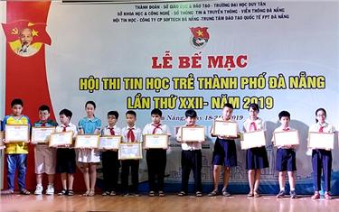Đại học Duy Tân tiếp tục đồng hành với Hội thi Tin học Trẻ Tp. Đà Nẵng năm 2019