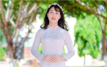 Nữ sinh Đạt điểm Thủ khoa đầu vào của Đại Duy Tân: 29,75/30 điểm