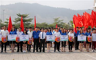 Khai mạc Hội thao Sinh viên Đại học Duy Tân lần thứ II