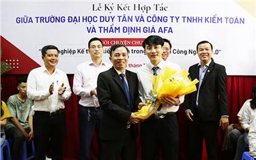 Đại học Duy Tân Ký kết Hợp tác với Công ty TNHH Kiểm toán và Thẩm định giá AFA