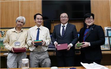 Đại học Duy Tân làm việc với Công ty TNHH N&V Bridge và Công ty TNHH Chime, Nhật Bản