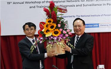 """Hội thảo Quốc tế """"Mạng lưới về bệnh Sán máng và các bệnh Giun sán khác truyền qua Động vật Châu Á"""""""