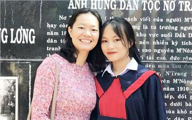 Nữ sinh đạt 27,8/30 điểm trúng tuyển ngành Quản trị Tài chính của Đại học Duy Tân