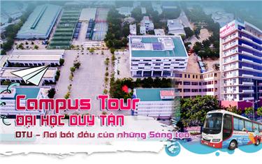 Campus Tour Đại học Duy Tân - Nơi bắt đầu của những sáng tạo