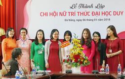 Đại học Duy Tân Thành lập Chi hội Nữ Trí thức