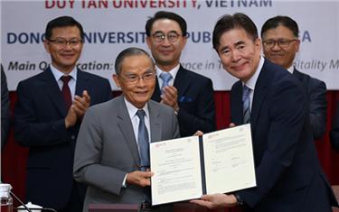 Đại học Duy Tân Ký kết Hợp tác với Đại học Dong-A Hàn Quốc