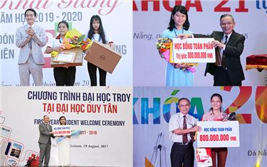 Gương sáng điểm cao vào Đại học Duy Tân
