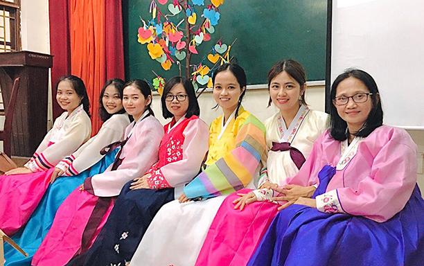 DTU Welcomes New K26 Korean Language Students