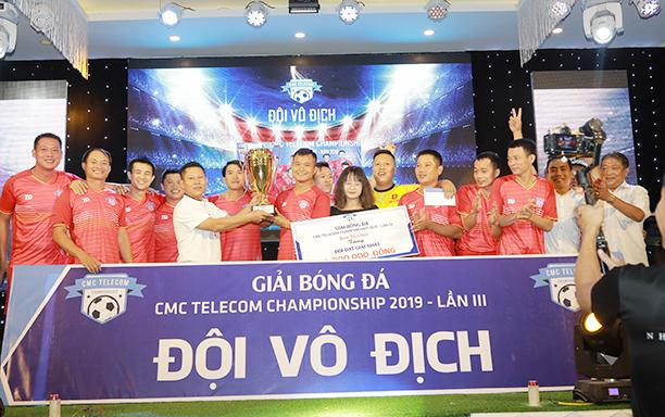 Đại học Duy Tân Vô địch giải CMC Telecom Championship Lần III - 2019