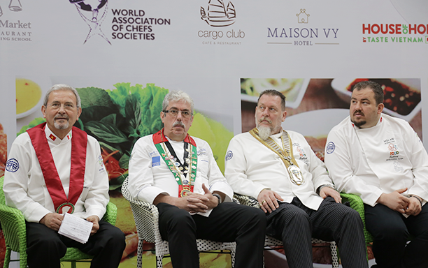World Association of Chefs' Societies Participate in the 2018 International Food Tourism Forum at DTU