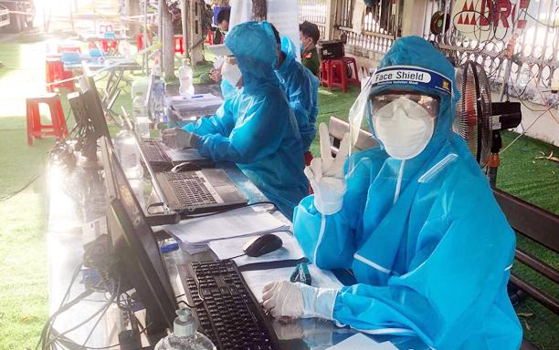 DTU Students volunteer to join Covid-19 frontline