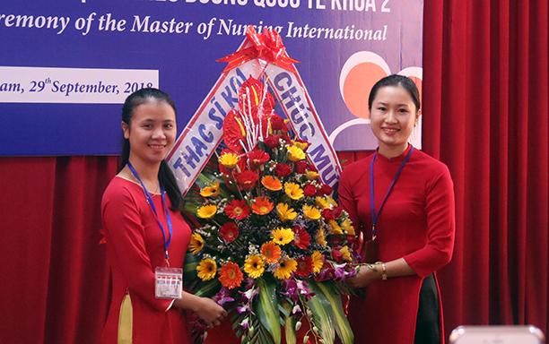Opening Ceremony of Second Course of International Master of Nursing program