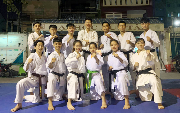 Impressive DTU Achievements at the Danang Karate Cup