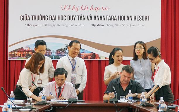 An Agreement with the Anantara Hoi An Resort