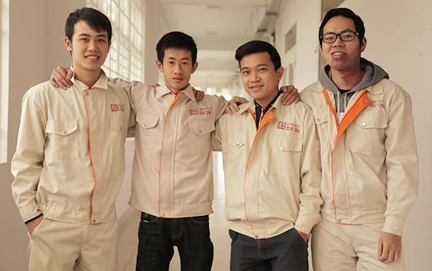 Đại học Duy Tân vào vòng Bán kết Châu Á Cuộc thi  Intel Innovative FPGA 2017