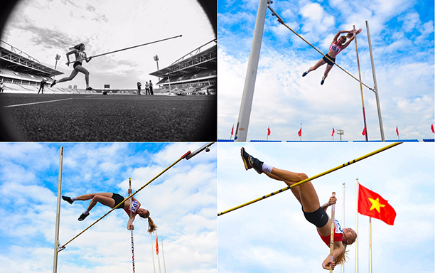 DTU Student Takes Women's Pole Vault Silver Medal in 2020 National Athletics Championship