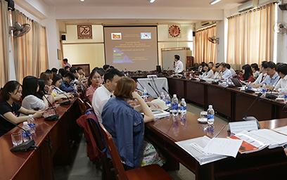 Hội thảo thu hút sự tham gia của các nhà nghiên cứu đến từ 27 trường đại học, viện nghiên cứu trong cả nước