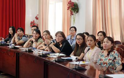 Gặp mặt Học viên lớp Thạc sĩ Điều dưỡng Quốc tế Khóa I