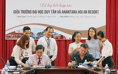 Lễ Ký kết Hợp tác giữa Đại học Duy Tân và Anantara Hoi An Resort