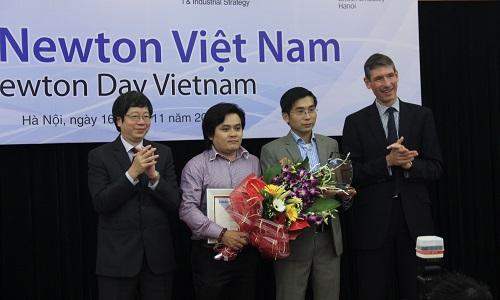 Dự án 'Xã hội Kết nối' nhận Giải thưởng Newton gần 6 tỷ đồng