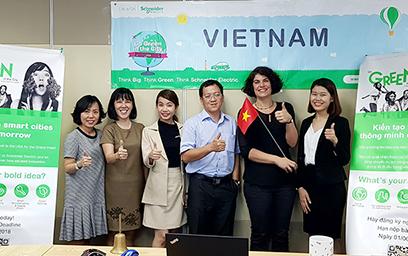 """Sinh viên Duy Tân vào Chung kết thế giới cuộc thi """"Go Green In The City"""" 2018"""