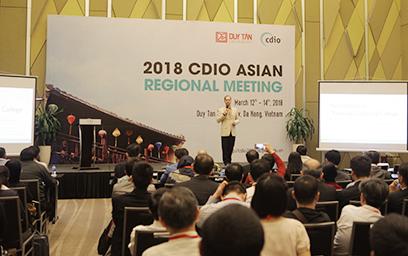 Đại học Duy Tân Đăng cai Tổ chức Hội nghị Thường niên CDIO vùng Châu Á năm 2018