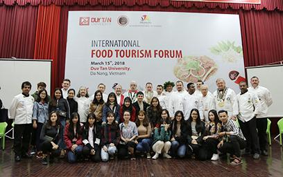 Hội thảo Quốc tế Du lịch Ẩm thực 2018 tại Đại học Duy Tân