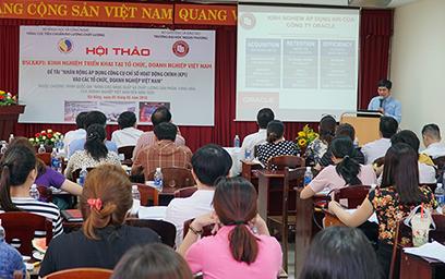 """Hội thảo """"BSC&KPI: Kinh nghiệm Triển khai tại Tổ chức, Doanh nghiệp Việt Nam"""" tại Đại học Duy Tân"""