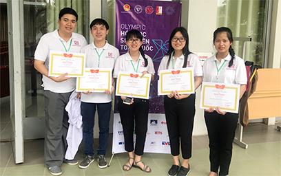 Sinh viên Duy Tân đoạt giải Nhì và Ba tại Olympic Hóa học Sinh viên Toàn quốc Lần thứ X