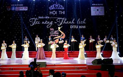 Hội thi Mr & Miss DTU 2018: Hướng đến Nét đẹp Hội tụ giữa Tài sắc và Tâm hồn