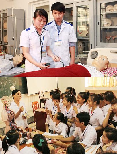 Sinh viên Duy Tân luyện tay nghề trong các phòng thực hành hiện đại của ĐH Duy Tân