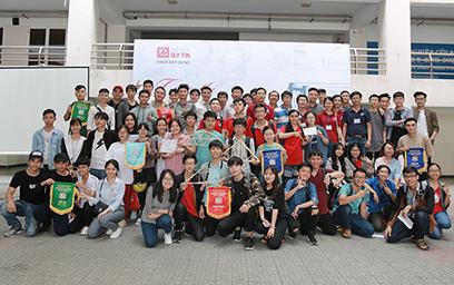 """Cuộc thi """"Xây cầu Ô Thước"""" Lần thứ 4 tại Đại học Duy Tân"""