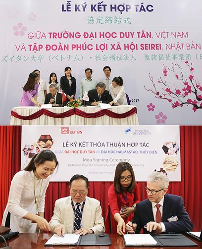 ĐH Duy Tân ký kết hợp tác với nhiều đơn vị để tạo cơ hội cho sinh viên Điều dưỡng học tập và làm việc ở nước ngoài
