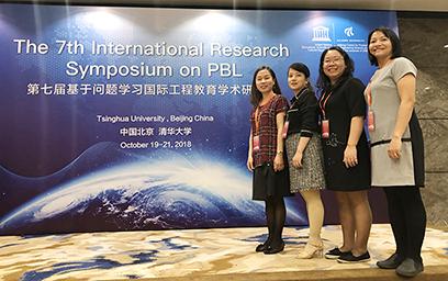 Đại học Duy Tân Báo cáo tại Hội nghị Quốc tế PBL 2018 ở Trung Quốc