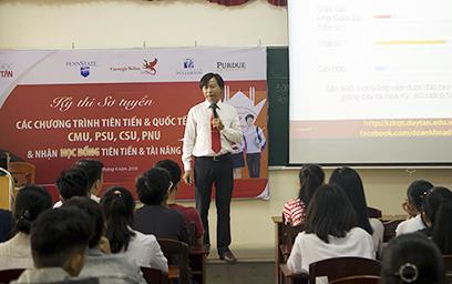 Đại học Duy Tân Tổ chức Sơ tuyển Chương trình Tiên tiến & Quốc tế