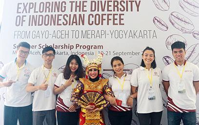 Sinh viên Duy Tân tham gia hành trình P2a indonesian coffee story