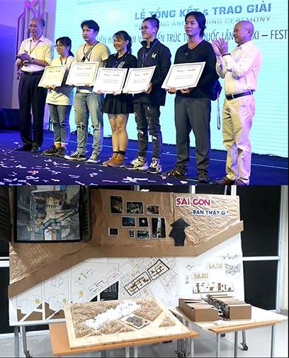 DTU với giải Toàn năng cùng nhiều giải Nhất, Nhì, Ba tại Festival Kiến trúc 2018