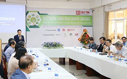Việt Nam - Hàn Quốc Hợp tác Phát triển Hóa học Xanh