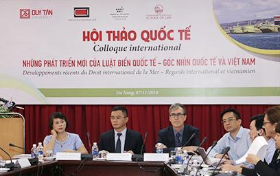 """Hội thảo với Chủ đề """"Những phát triển mới của Luật Biển quốc tế - Góc nhìn quốc tế và Việt Nam"""""""