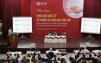 Hội thảo Khoa học Quốc tế về Phòng và Kiểm soát Ung thư