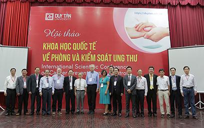 Hội thảo Quốc tế về Phòng chống và Kiểm soát Ung thư tại Đại học Duy Tân
