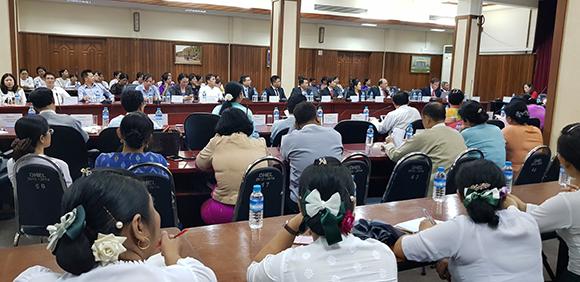 ĐH Duy Tân Tham dự Diễn đàn Giáo dục Việt Nam - Myanmar