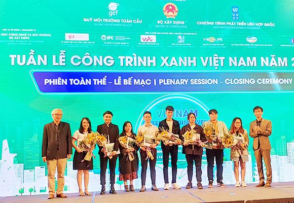 Đồ án của sinh viên Duy Tân giành Giải thưởng Kiến trúc Xanh Sinh viên 2020