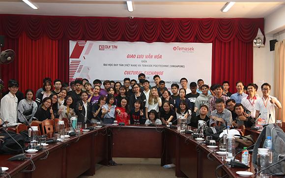 Giao lưu Văn hoá giữa Đại học Duy Tân và Trường Temasek Polytechnic Singapore