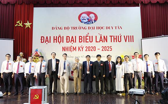 Đại hội Đại biểu Đảng bộ trường Đại học Duy Tân lần thứ VIII, nhiệm kỳ 2020-2025